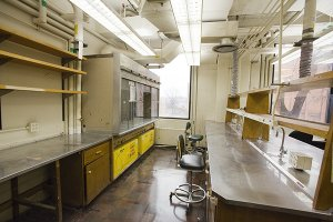 Laboratory / Wet Lab with Hoods for lease at Eastman Business Park in Rochester, NY
