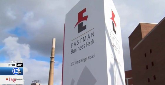 13 WHAM's Patrice Walsh Visits Eastman Business Park