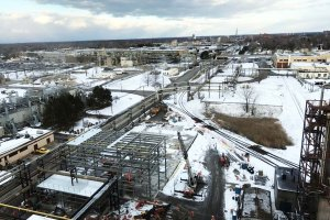 RED-Rochester Gas Conversion Project at Eastman Business Park - 2-2-17 from B-321 roof
