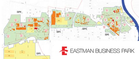 Map of Eastman Business Park