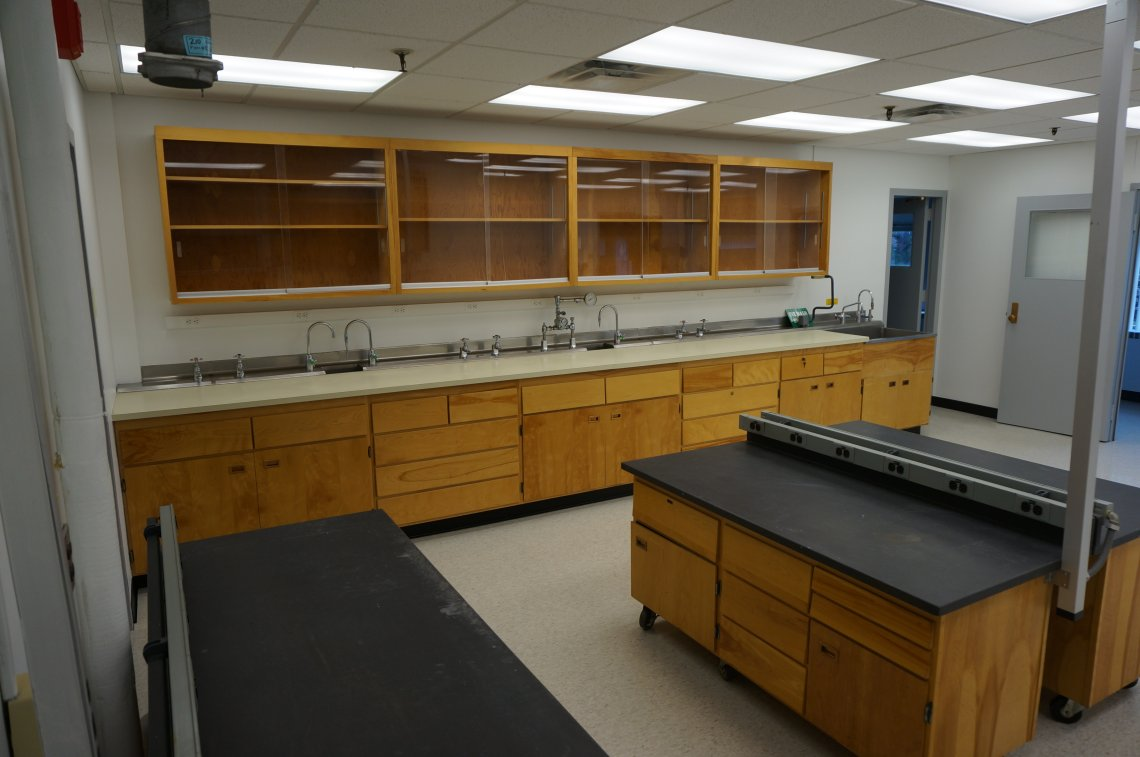 Wet Lab interior at Eastman Business Park in Rochester, NY