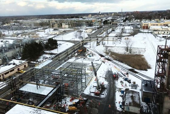 Early February Work on the RED-Rochester Gas Conversion Project at Eastman Business Park