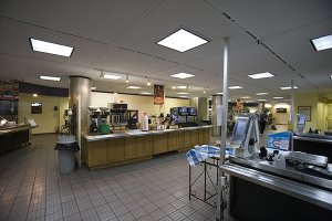 Cafeteria Serving Area