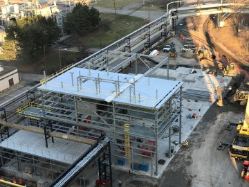 Significant Progress Made on the RED-Rochester Gas Conversion Project at Eastman Business Park