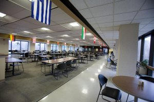 Cafeteria Seating Area