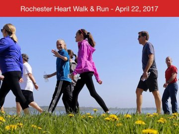Come join us for the annual Heart Walk & Run Kick-off Celebration!