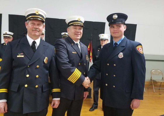 Kodak Firefighter Graduates and Receives NYS Professional Firefighter Certification