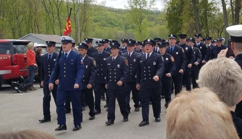 NYS Firefighter Graduation