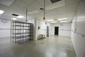 High Ceiling Lab/Storage